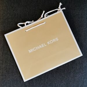 Michael Kors SM paper Shopping Bag